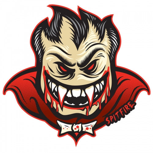 Spitfire Monster Mash Bloodlust Medium - Black/Red - Sticker
