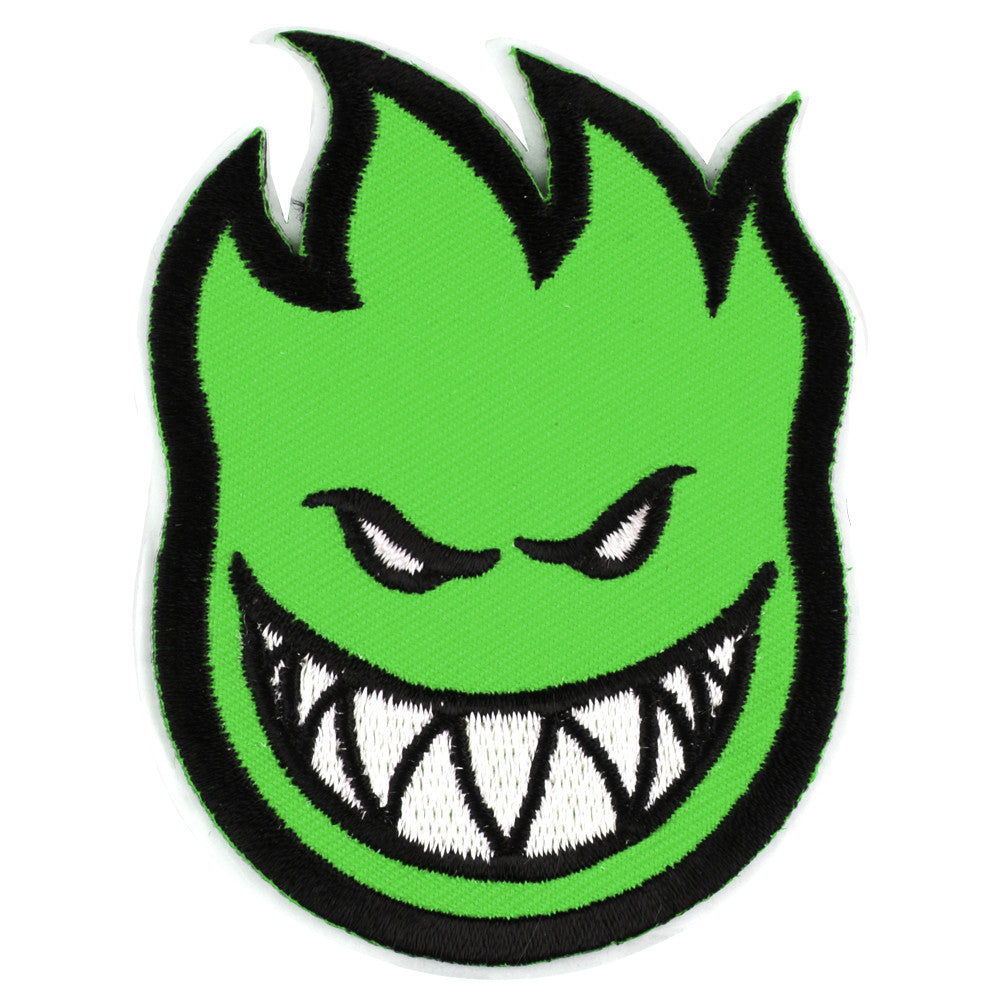 Spitfire Patch Bighead Small - Green - Sticker