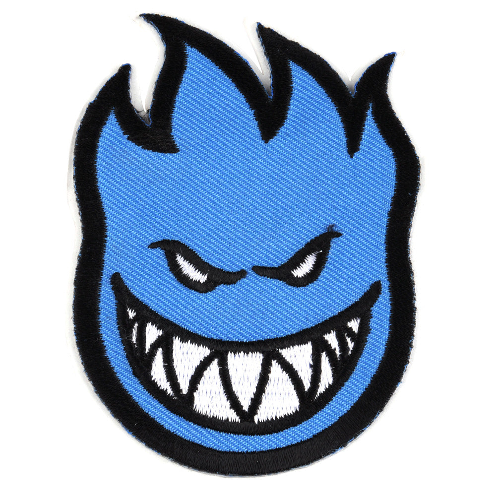 Spitfire Patch Bighead Small - Blue - Sticker