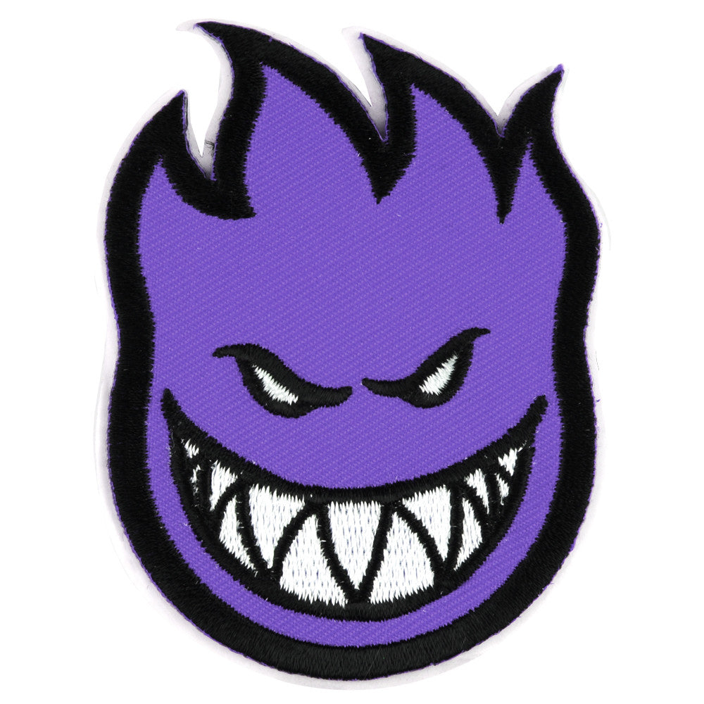 Spitfire Patch Bighead Small - Purple - Sticker