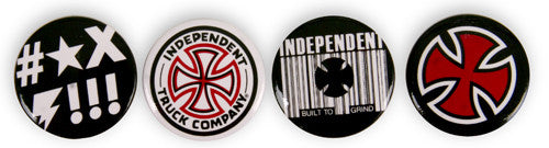 Independent Rugged Pin Set - Buttons