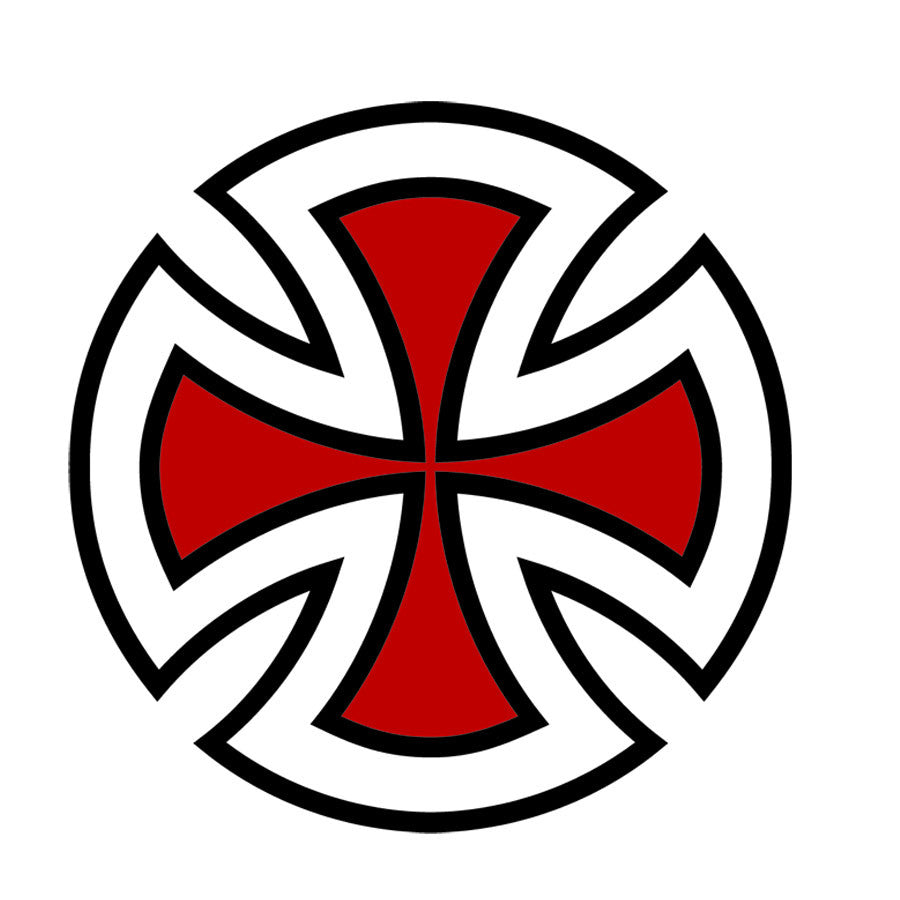 Independent Cross Decal - Assorted - 1in - Sticker