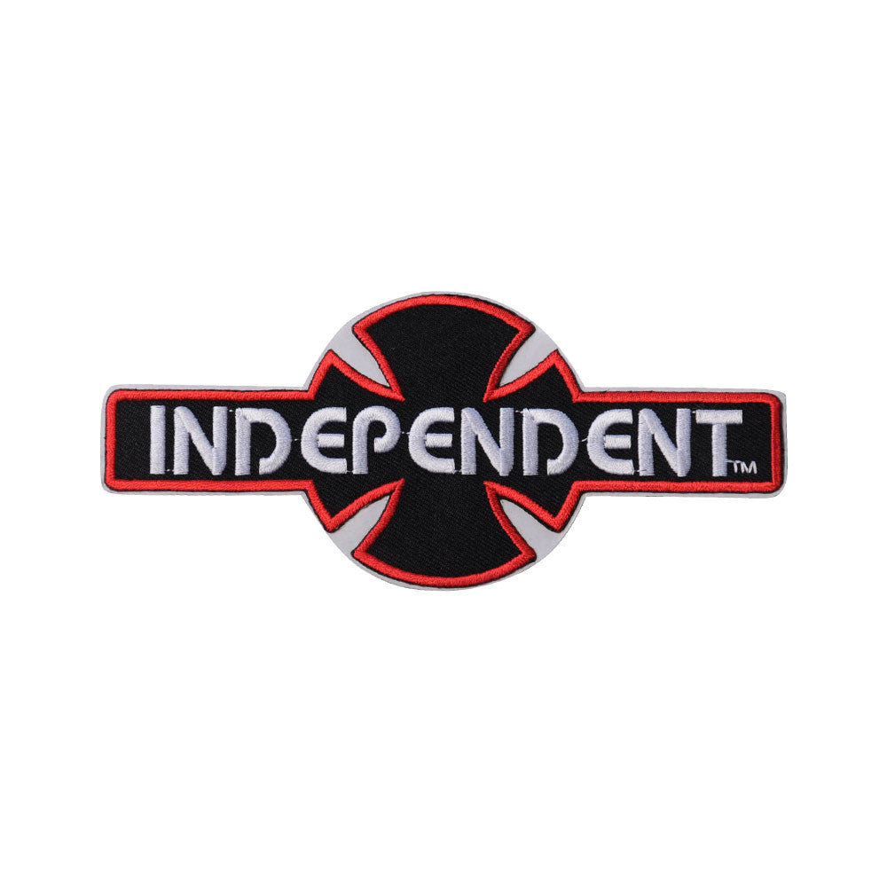 Independent O.G.B.C. Patch Full Adhesive Back - Red - 2.5in x 6in - Sticker