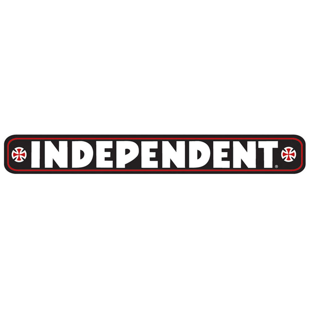 Independent Bar Decal - Black - 36in x 4.5in - Sticker