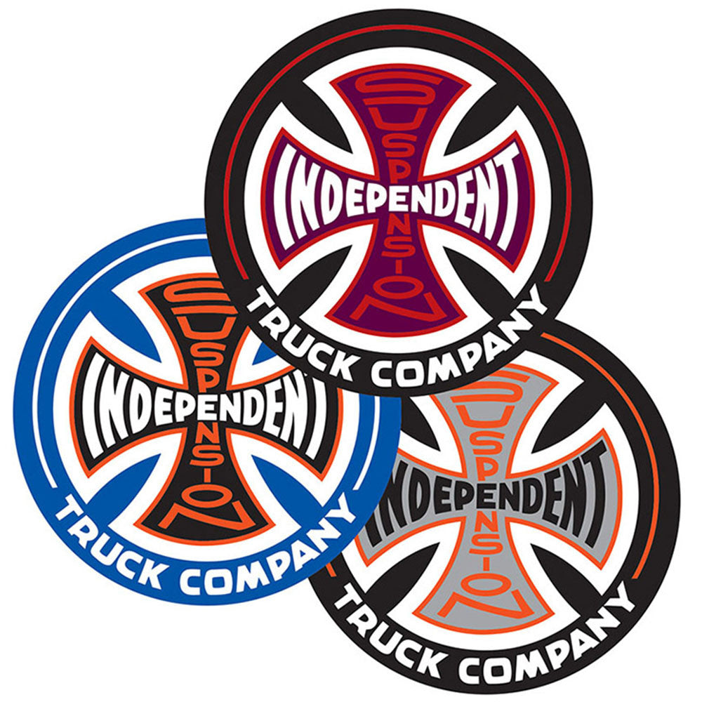 Independent Suspension Sketch Decal - Assorted - 1.5in x 1.5in - Sticker