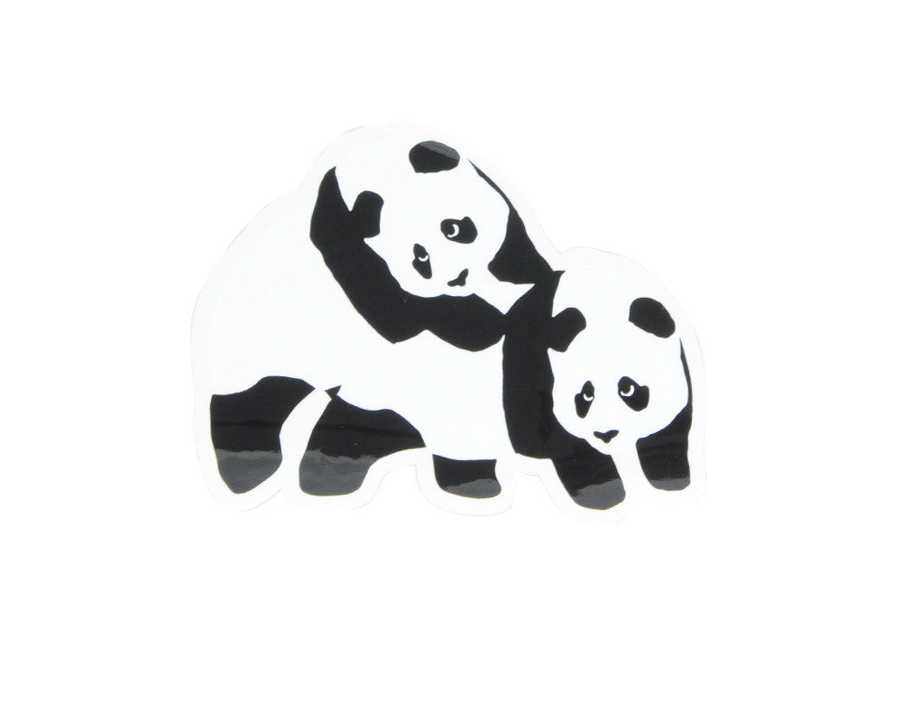 Enjoi Piggy Back Panda - Sticker