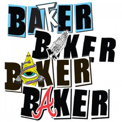 Baker Icon - Assorted - Stickers