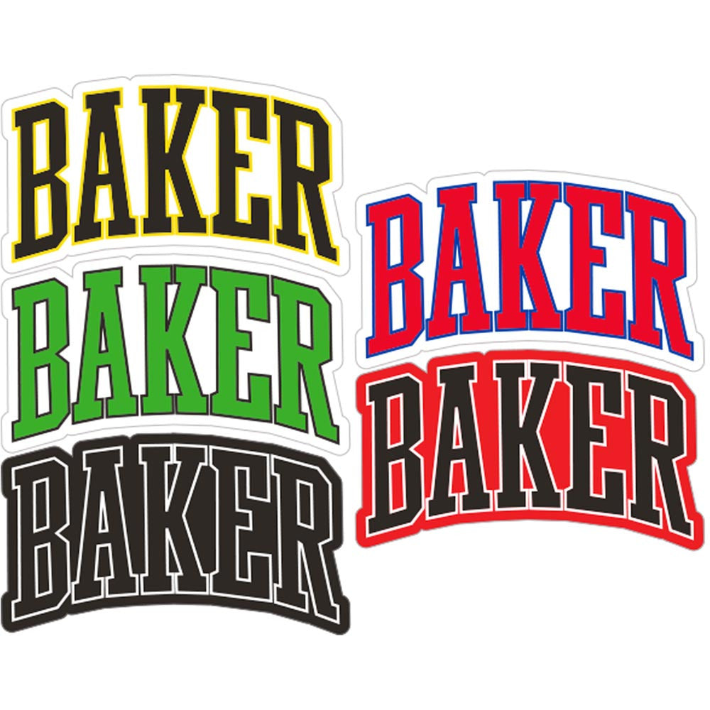 Baker Lakeland - Assorted - Stickers