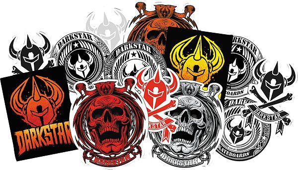 Darkstar Grave - Assorted - Stickers