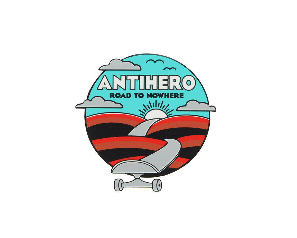 Anti-Hero Nowhere Medium - Assorted Colors - Sticker