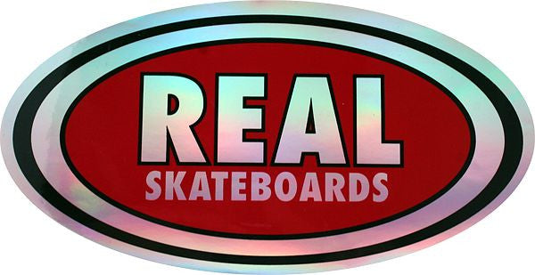 Real Oval Prism Small - Sticker
