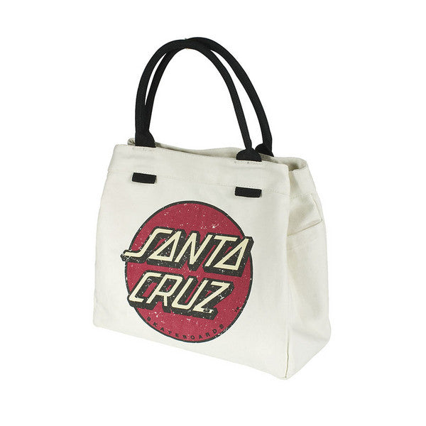 Santa Cruz Classic Dot Tote Juniors - OS - Natural - Tote Bag