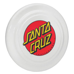 Santa Cruz Classic Dot Flyer Flying Disc - OS - Frisbee