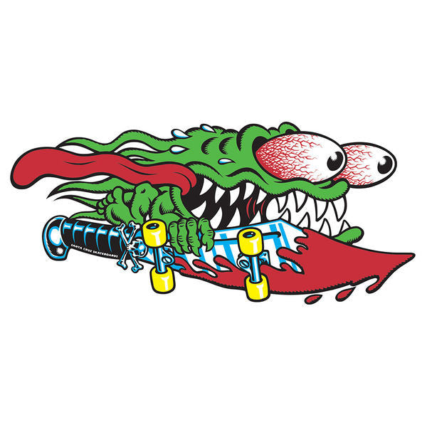 Santa Cruz Slasher Sword Decal - Multi - 6in - Sticker