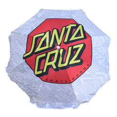 Santa Cruz Classic Dot Beach - White - Umbrella