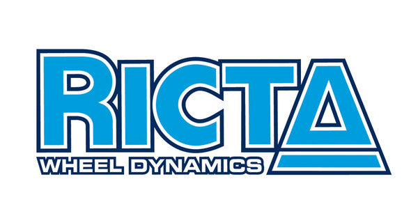 Ricta Reconstruction Decal - Blue/White - 5in - Sticker