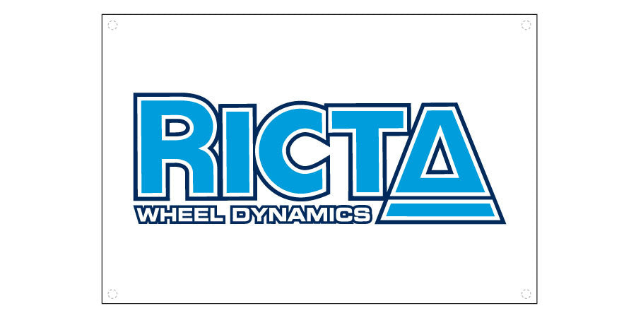 Ricta Reconstruction Banner - 24in x 36in - Skate Banner