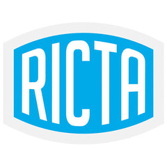 Ricta Clear Mylar Decal - Assorted Color - 2in x 1.5in - Sticker