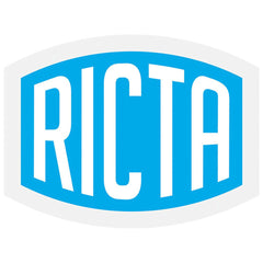Ricta Clear Mylar Decal - Assorted Color - 10in x 7.5in - Sticker