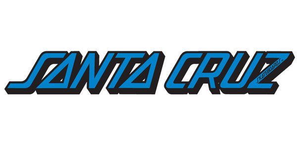 Santa Cruz Classic Strip Decal - Assorted Colors - 10in - Sticker
