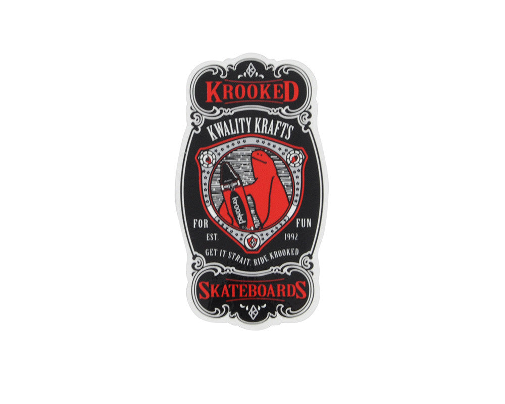 Krooked Krayon Medium - Assorted Colors - Sticker