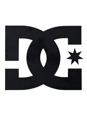 DC Star Vinyl - Black - 10in - Sticker