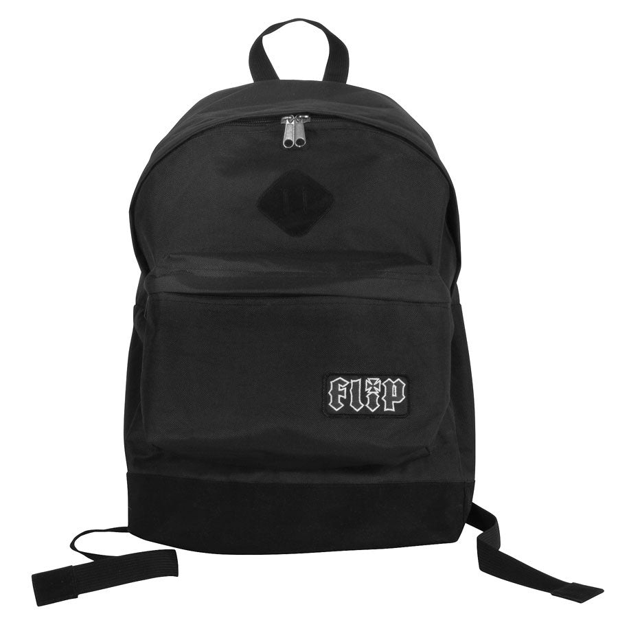 Flip HKD Patch Backpack Black 11.5Wx17Hx5.5D Mens - Backpack