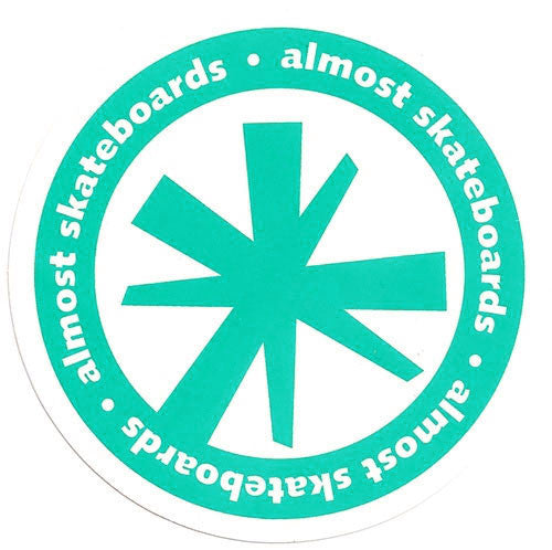 Almost Asterisk - Assorted Colors - 3.75in - Sticker