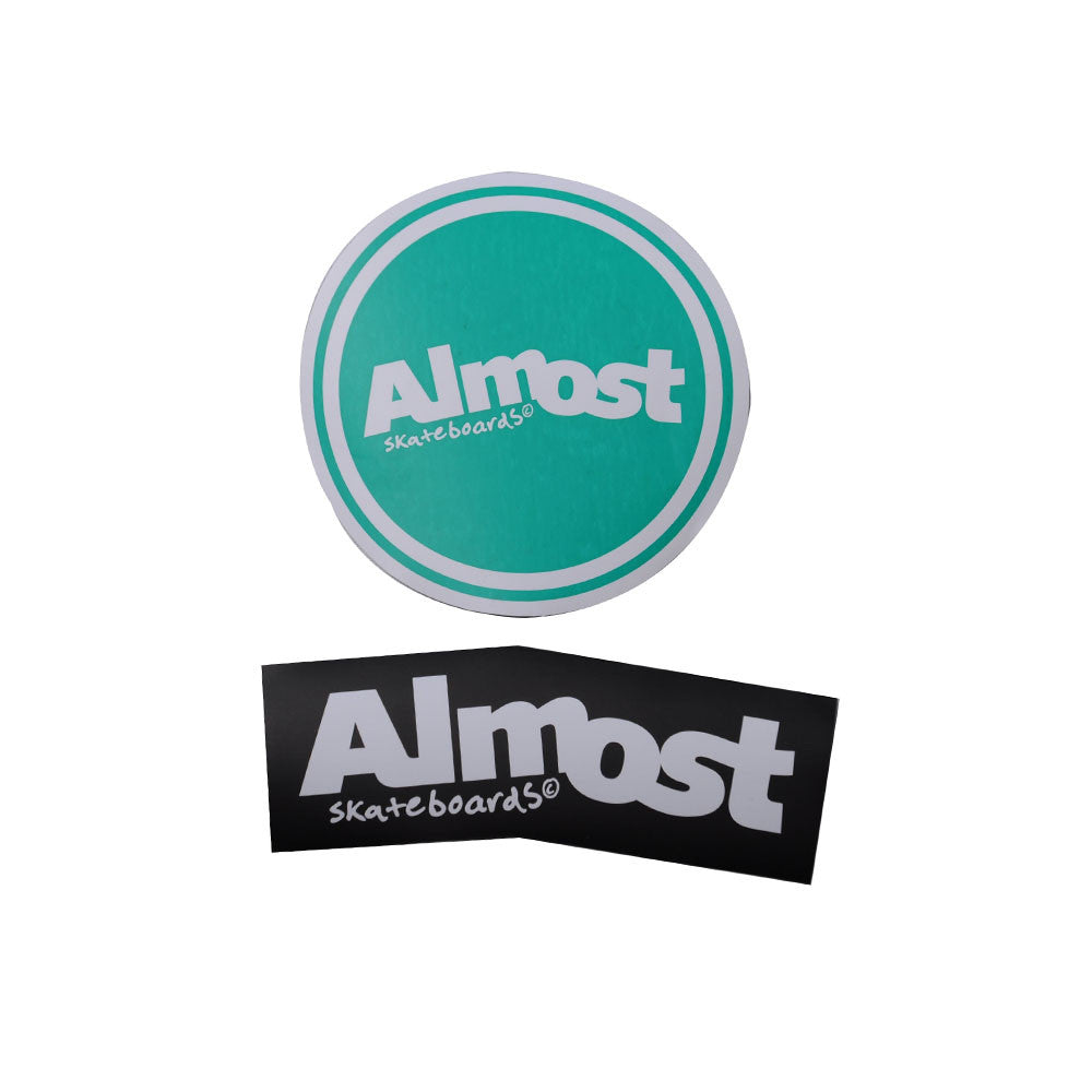 Almost Round About 2 - Large - Sticker