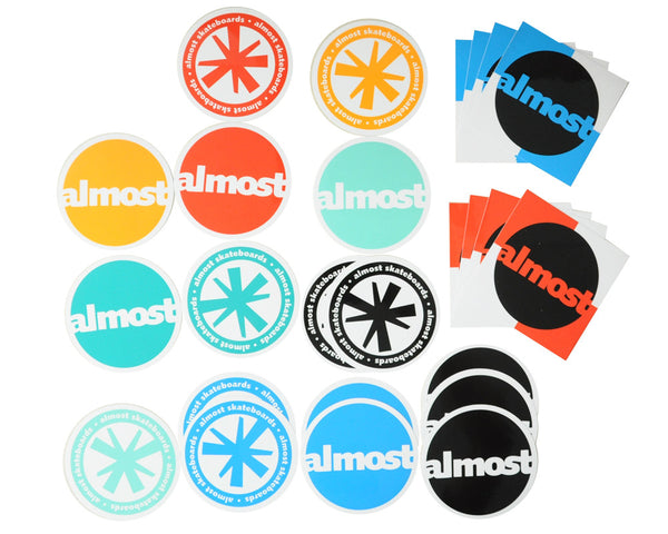 Almost Round About Stix 25 Pack - Stickers