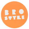 Bro Style Round Medium - Assorted - Sticker
