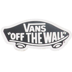 Vans Off The Wall - Black/White - Sticker
