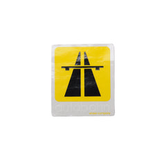 Autobahn Logo Medium - Yellow - Sticker