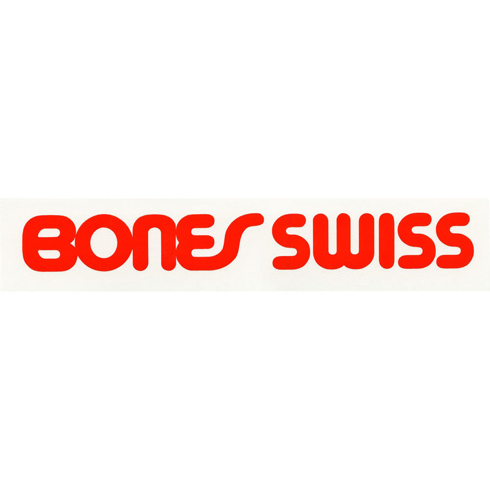Bones Swiss Type Filled - Sticker