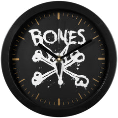 Bones Vato - Black/Gold - Wall Clock
