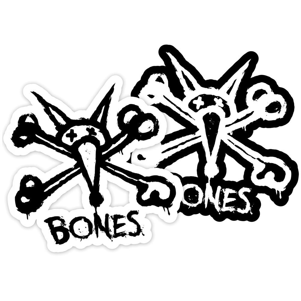 "Bones Stacked 3"" - Assorted - Sticker"