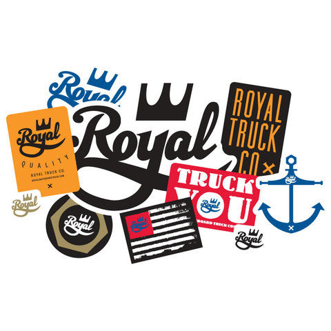 Royal 30 Pack Assorted -Stickers