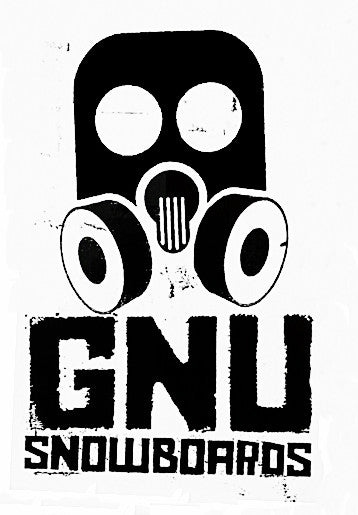 GNU Big - Assorted Colors - 8in - Sticker
