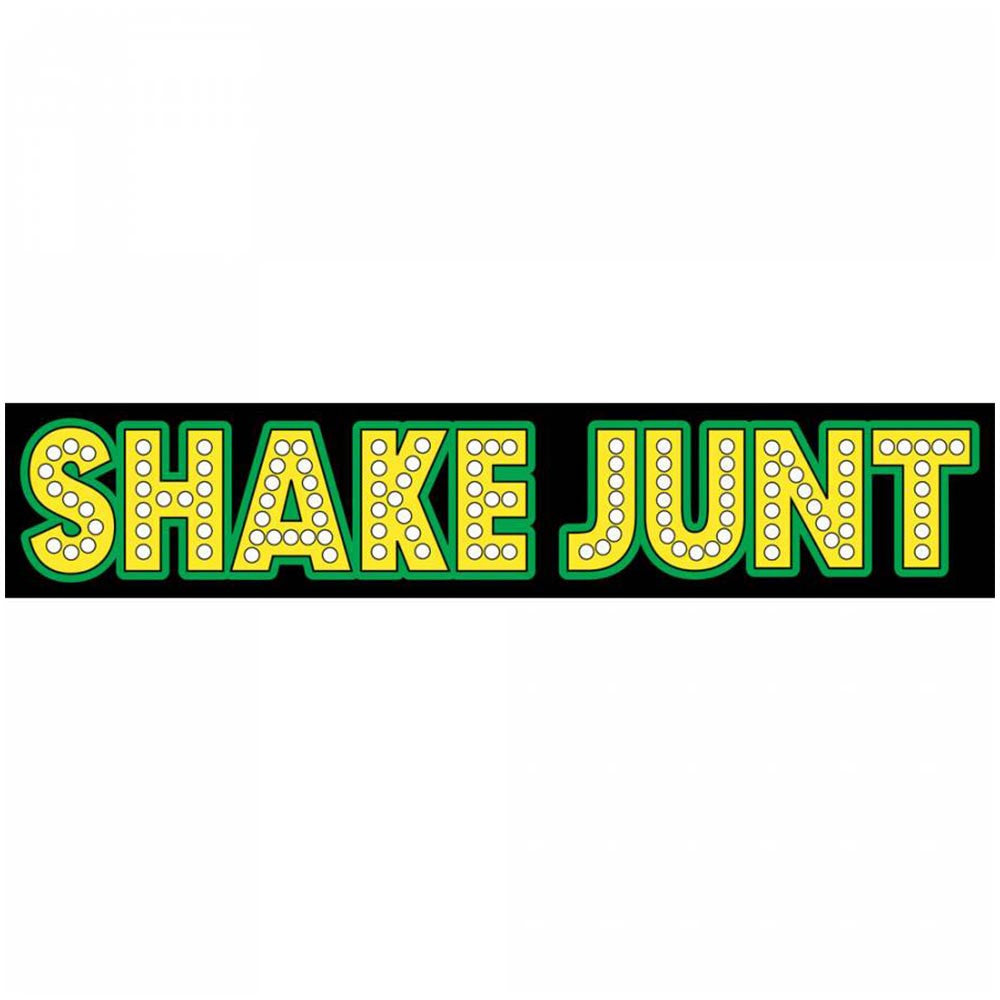 Shake Junt Large Stretch - Black/Green - Stickers