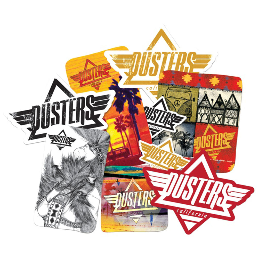 Dusters Golden - Assorted  - Sticker