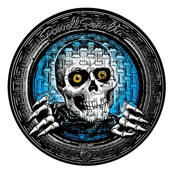 Powell Peralta Pool Light Ripper - Black/Blue/White - 10in - Sticker