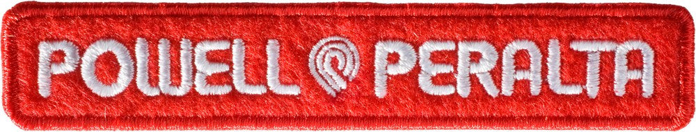 Powell Peralta Patch Strip - Red/White - Patch