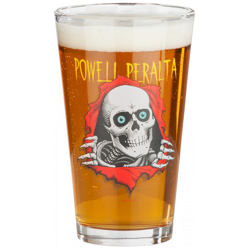 Powell Peralta Ripper - Clear - Drinking Glass