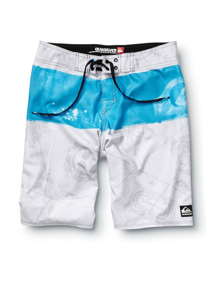 "Quiksilver  Cypher Kelly Nomad 21"" Boardshorts - Grey - Mens Boardshorts"
