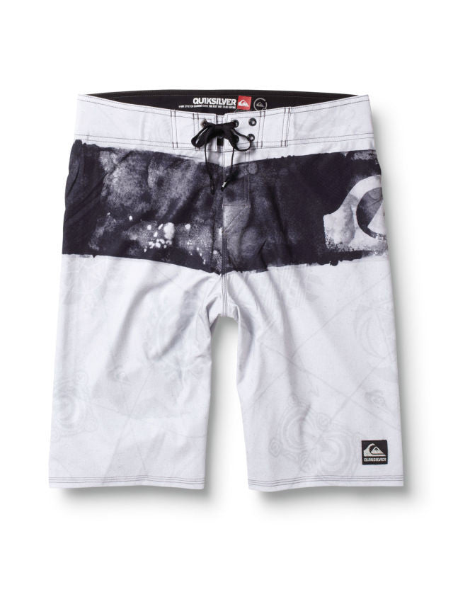 "Quiksilver  Cypher Kelly Nomad 21"" Boardshorts - White - Mens Boardshorts"