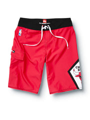 "Quiksilver Bulls NBA 22"" Boardshorts - Red - Mens Boardshorts"