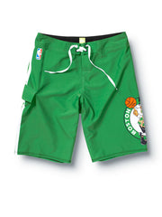 "Quiksilver Celtics NBA 22"" Boardshorts - Green - Mens Boardshorts"
