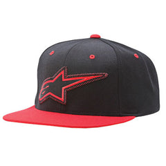 Alpinestars Craig Snapback Hat - Red - Men's Hat