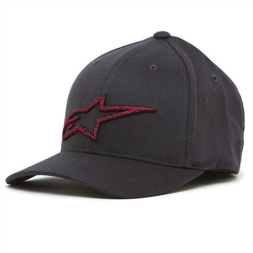 Alpinestars Stitches Flexfit Hat - Grey - Men's Hat