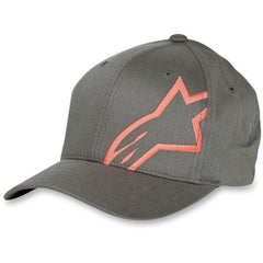 Alpinestars Corp Shift Flexfit Hat - Grey - Men's Hat